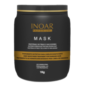 Mask wheat and macadamia nuts proteins